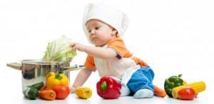fructe si legume bebe