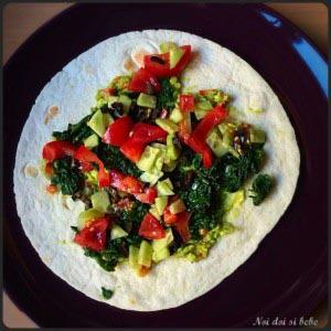 Tortillas vegetariene