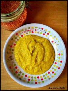Supa crema de linte cu legume