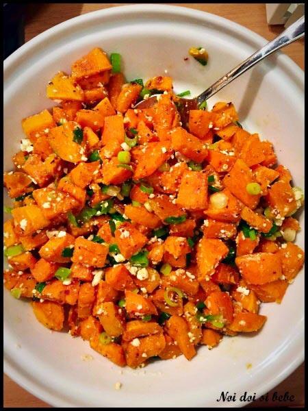 Salata cu cartofi dulci
