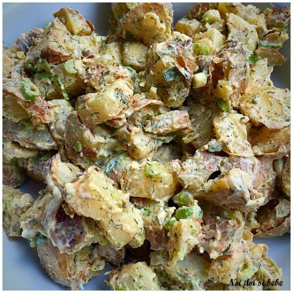 Salata de cartofi copti