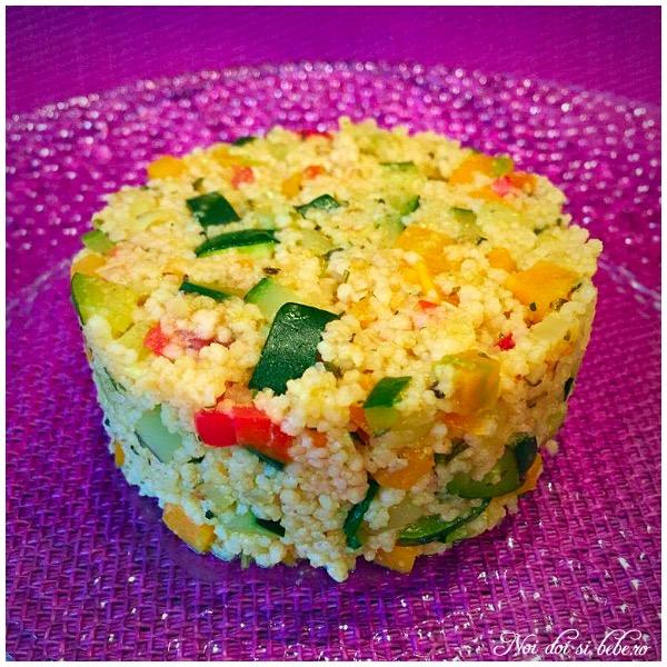Couscous cu legume