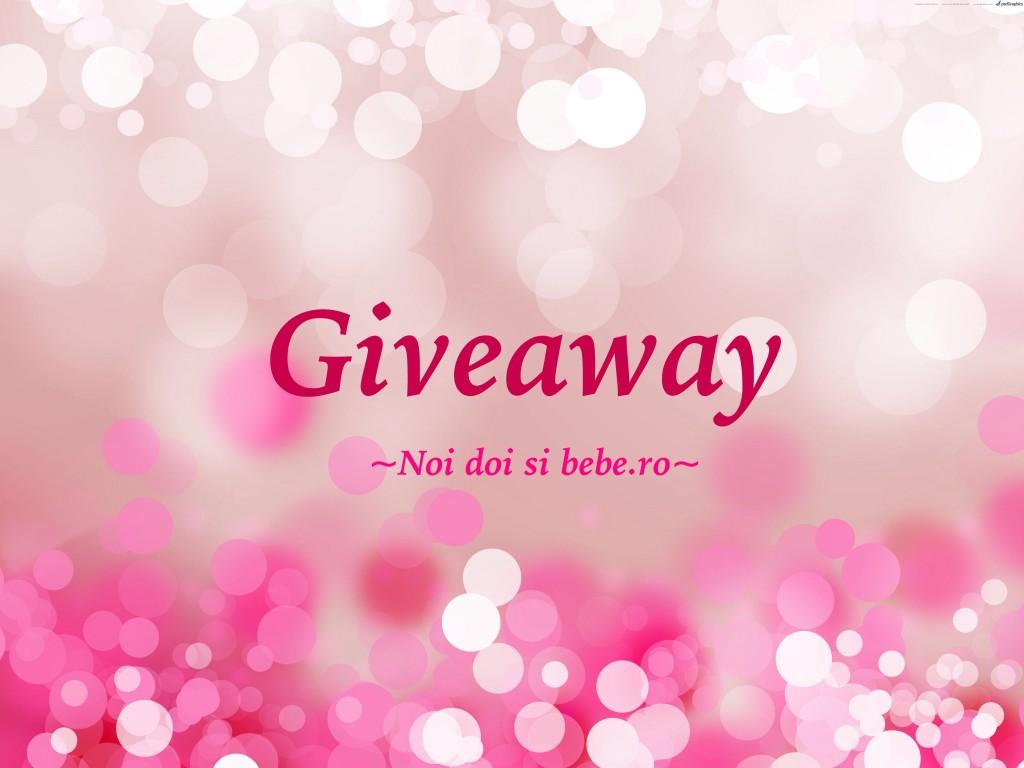 Giveaway pe blog