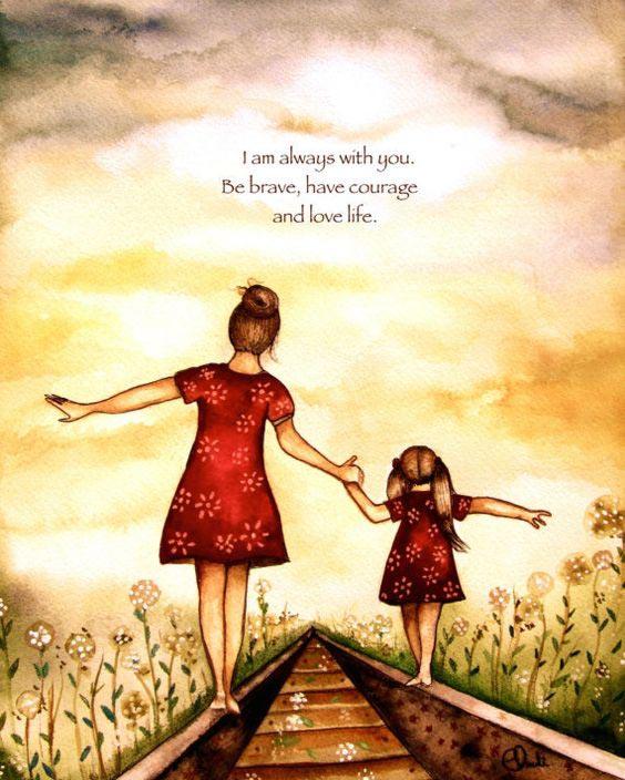 De la mama la fiica