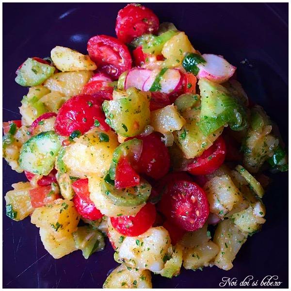 Salata orientala dieta Rina