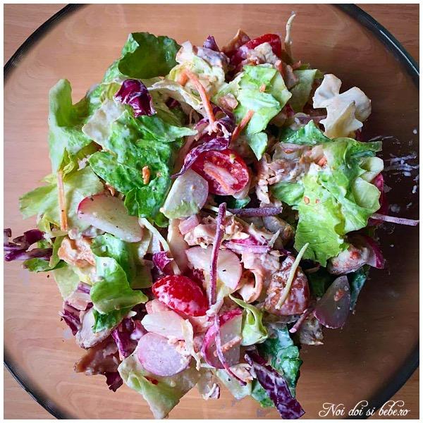 Salata cu pui dieta Rina