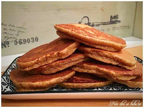 Pancakes cu ricotta