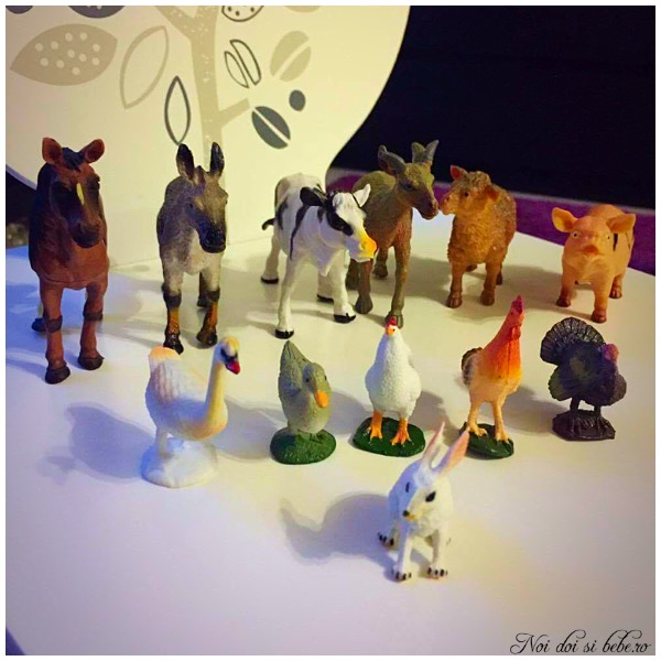 Animalele de la ferma copii