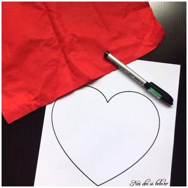 Activitati montessori inima de cusut