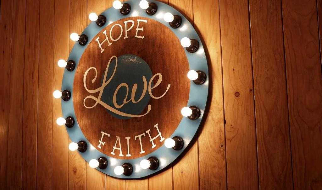 speranta, iubire, credinta
