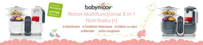 Robot Multifunctional 5 in 1 Nutribaby